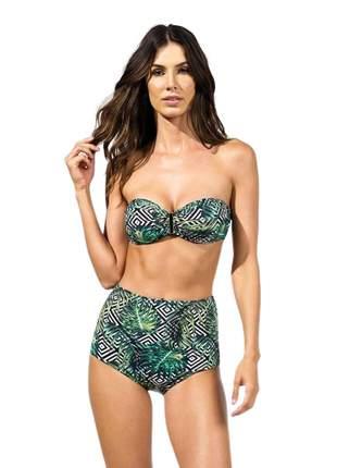 Biquini Bustiê Hot Pants Costela De Adão - Marryssil