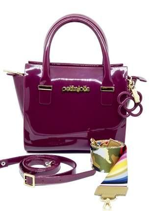 Bolsa petite jolie love bag pj3200 bordô