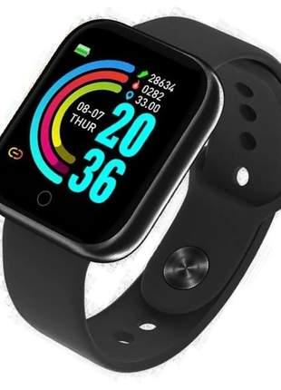 Relógio smartwatch inteligente compatível com android e iphone - envio imediato