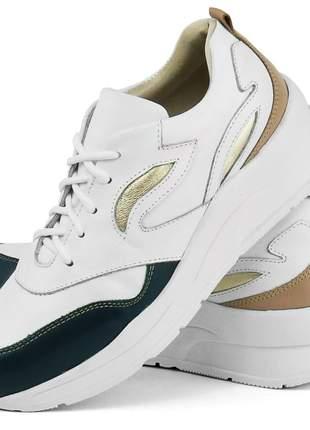 Tênis Dad Sneaker SapatoFran Chunky Feminino