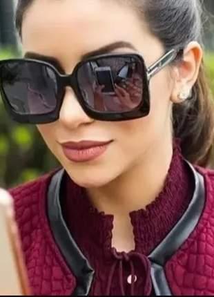 Óculos europeu de luxo modelo quadrado grande