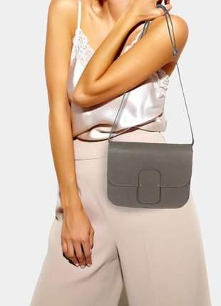 Bolsa felipe borges acessórios estilo satchel de couro