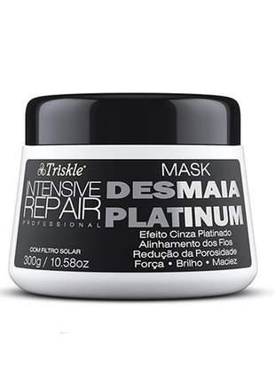 Máscara desmaia platinum triskle 300g #blackfriday