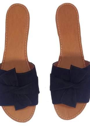 Sandália rasteira feminina chinelo rasteirinha tamanco 33 ao 40 cores