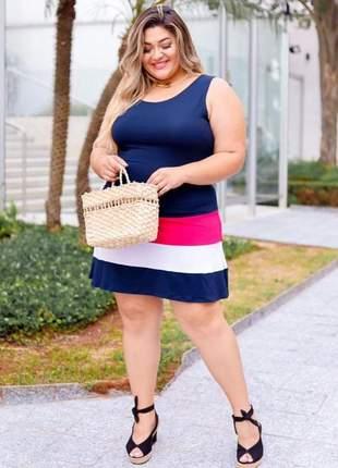 Vestido verão plus size
