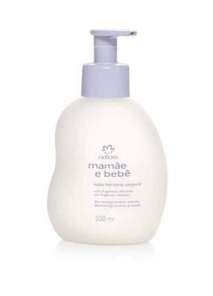 Hidratante relaxante mamãe e bebê natura 200ml