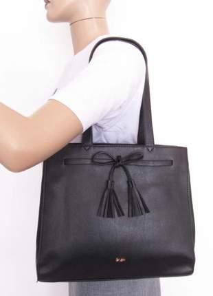 d5992a857 Bolsa feminina social ombro gash com laço - R$ 119.99 (de marca ...