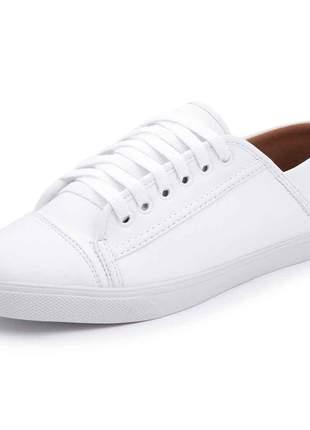 Sapatênis casual fashion avalon 164 branco
