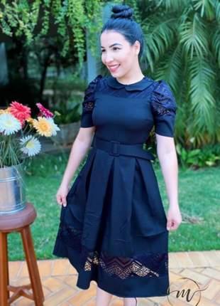 Vestido luxo preto