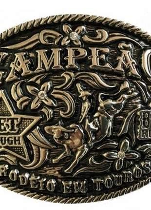 Fivela  Country Campeão - Cintos Exclusivos -  Unissex