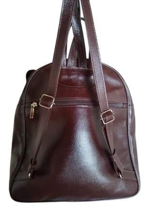 Bolsa bag/mochila couro legítimo