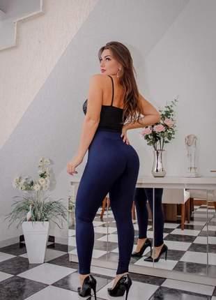 Calça legging feminina suplex lisa