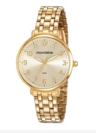 Compartilhar:  relógio feminino mondaine dourado 2021, cor dourado