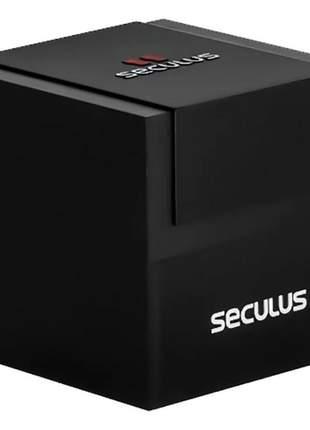 Relógio feminino seculus chocolate lançamento 2021