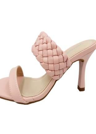 Sandália salto moda via marte 20-19407
