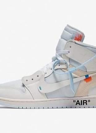 Tênis nike air jordan off-white