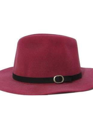Chapéu feminino floppy march rosa