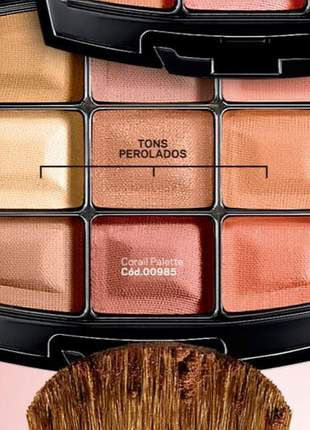 Chromatique kit multifuncional blush e sombras paleta l bel