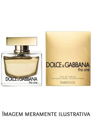 Perfume importado dolce & gabbana the one