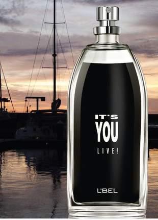 Perfume it´s you live deo colônia unissex l bel