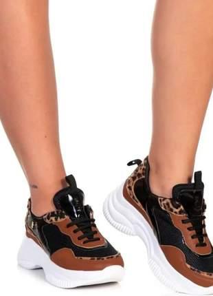 Tênis feminino chunck sneaker casual plataforma original