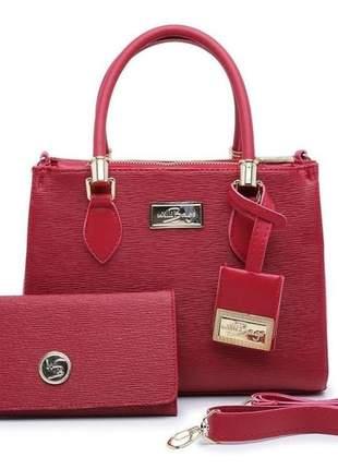 Bolsa feminina satchel