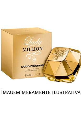 Perfume feminino importado paco rabanne lady million