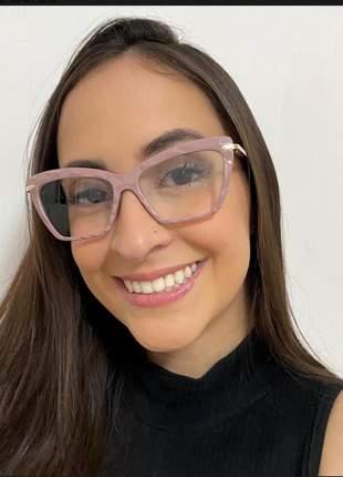 Armação de óculos feminino para grau diamante várias cores