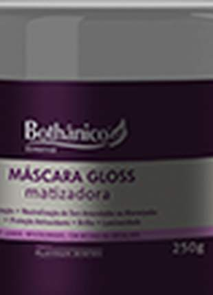 Mascara chrome matizador bothanico hair 250g