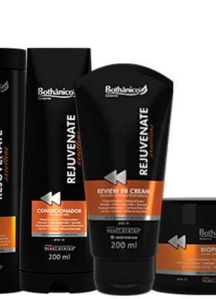 Kit rejuvenate excellens bothanico hair 04 produtos