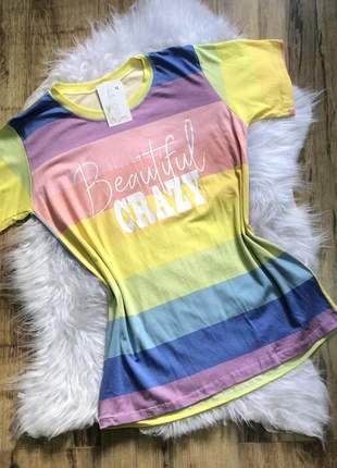 T-shirt arco-íris