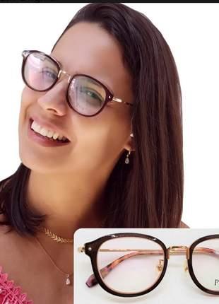 Armacao oculos feminino descanso qualidade premium original