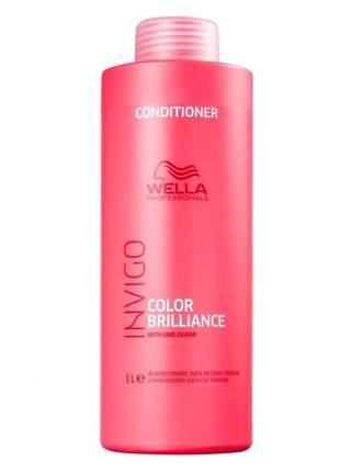 Condicionador color brilliance wella 1 litro