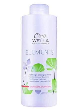 Condicionador light renewing wella elements -1000ml