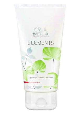 Condicionador light renewing wella elements -200ml