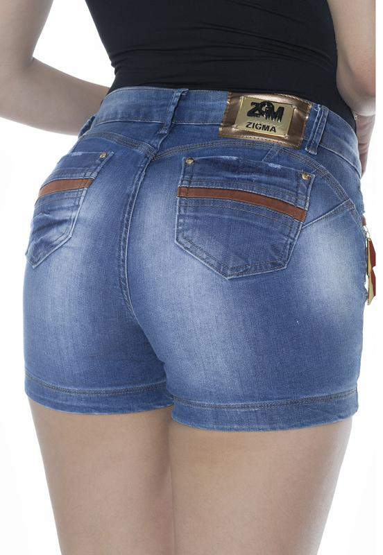 Cereja Dourada / Shorts curto zigma define bumbum