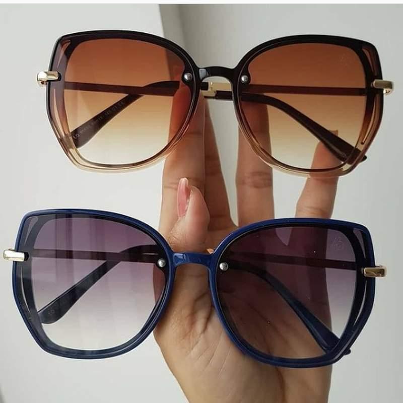 Óculos sol feminino mascara blogueira 2020