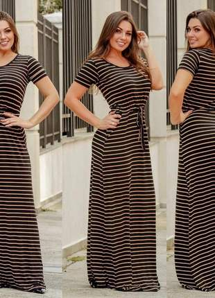 Vestido longo feminino – envio rápido