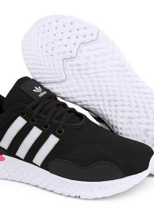 Tênis adidas top run ideal para academia,caminhada e dia a dia