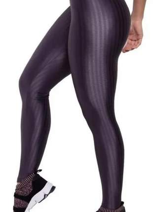 Calça legging leg fitness 3d poliamida/cirrê  academia ou dia a dia - pronta entrega