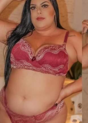Sutiã calcinha plus size renda lingerie 48 ao 54