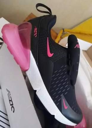 Tênis nike air max 370 preto com pink