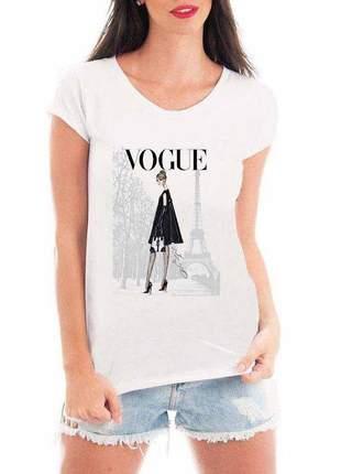Camiseta feminina - vogue
