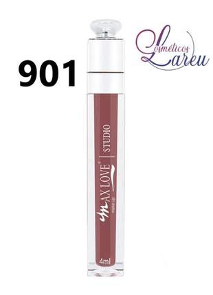 Lip gloss efeito 3d nº 901 max love (+ 17 cores na linha)