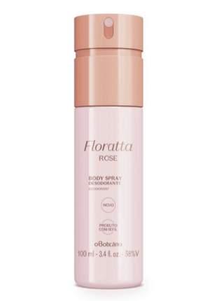 Desodorante body spray floratta o boticário 100 ml