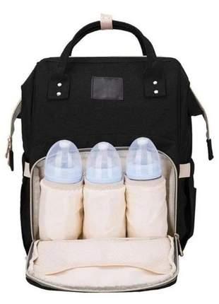 Mochila bolsa maternidade bebê multifunção térmica