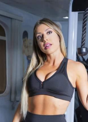 Top com bojo fitness feminino nadador roupas para academia ginástica