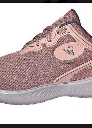 Tênis femino casual sapatenis feminino confortável rt01