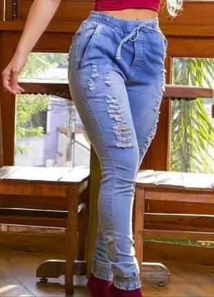 Calça jogguer jeans – envio rápido