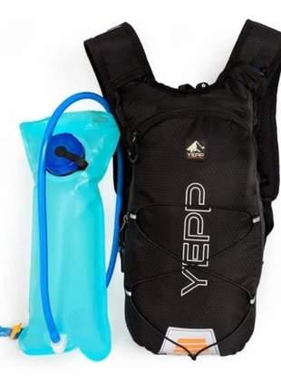 Mochila hidratação 2 litros de água ideal para ciclismo corrida e outros esportes